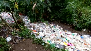 A River of Plastic Waste in Guatemala - Video