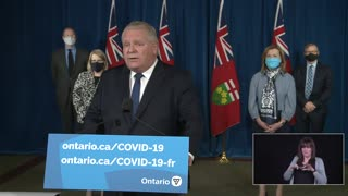 Second provincial state of emergency for Ontario