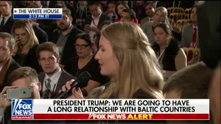'Who Knows?': Trump Talks Relationship With Russia During Baltic Conference - Video