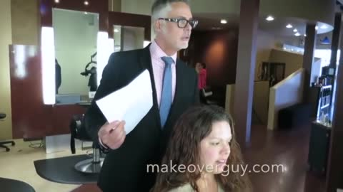 She Wants To Keep Her Long Hair: A MAKEOVERGUY makeover