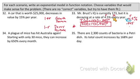 Exponential Decay part 2