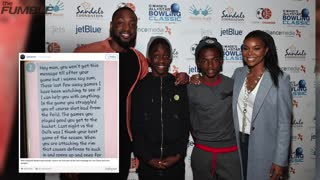 Dwyane Wade's Son Sends Struggling Dad Inspiring Texts - Video