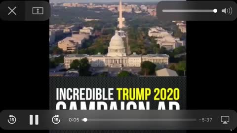 President Trumps crazy campaign ad is a MUST SEE!