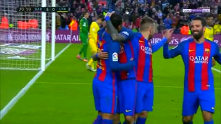 Gol de Vidal vs Las Palmas - Video