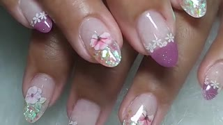 Beautiful gel nail designs