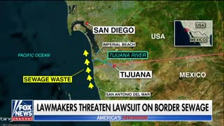 California lawmakers threaten lawsuit on border sewage