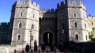 Windsor Castle prepares for Prince Philip's funeral