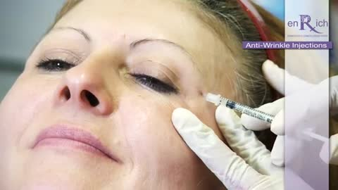 Remove Wrinkles with Anti-Wrinkle Injections at enRich Clinic