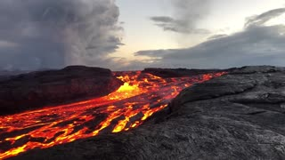 Epic Lava Flow in Hawaii