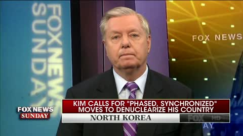 Sen. Graham: Bolton Says North Korea 'Just Buying Time' to Develop Missiles