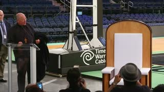 Pope chair unveiled in New York