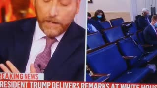 Fake news cuts off the President as he speaks to the people