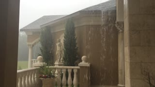 Incredible footage captures extreme rain from Tropical Storm Colin - Video