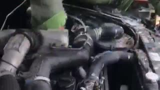 New Turbo Diesel for Buddy - Video
