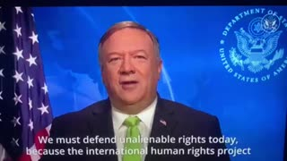MIKE POMPEO ADDRESSES THE NATION