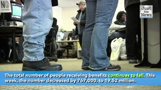 Nearly 1.5 million filed for unemployment last week