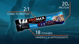 Promax Nutrition - All About The Original Bars - Video