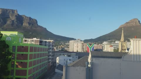 View from our Cape Town apartment!