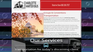 Charter Bus Charlotte NC - Video