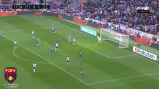 Gol de Messi vs Levante - Video