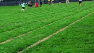 Collab copyright protection - jump rope race girl face plants - Video