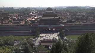 Travelling the Forbidden City in Beijing, China - Video