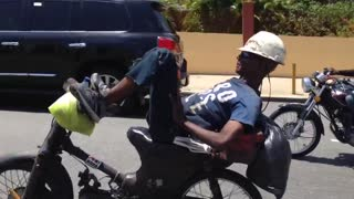 How to Kickback and Relax on a Motorbike - Video