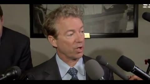 Senator Rand Paul Just Sent A Ransom Letter To Congress - Fix It Or Else!