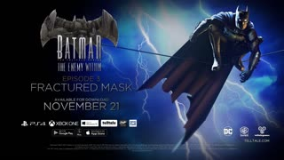 Batman The Enemy Within Official Episode 3 Fractured Mask Trailer