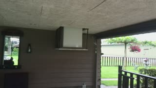 Refrigerator Stashed In Ceiling - Video