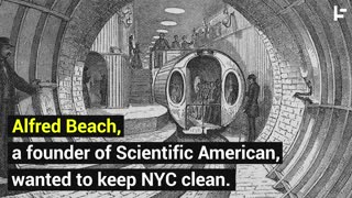 A Primitive Hyperloop: New York City's First Subway - Video