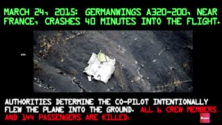 A History of Crashes Involving the Airbus A320-1 - Video