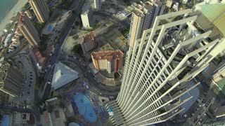 Point-of-view footage featuring brave BASE jumpers
