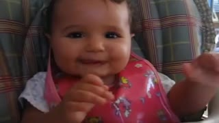 Baby laughing devil laugh - Video