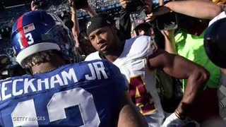 Odell Beckham Jr. Can't Remember Anything That Happened In Game Against Redskins - Video