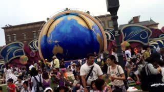 Parade at Universal Studios in Japan