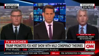 CNN's Phil Mudd Goes Off The Rails And Calls President Trump A 'Dirt Bag' - Video
