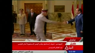 Egyptian president Sisi swears in new government - Video