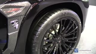 Mercedes GLS brightly - Video