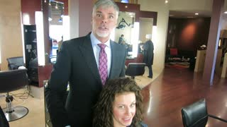 MAKEOVER: Goodbye Long Curly Hair! by Christopher Hopkins,The Makeover Guy® - Video
