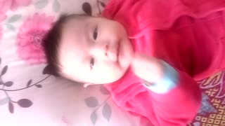 Good morning with baby - Video