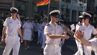 Pride Parade Canadian Armed Forces