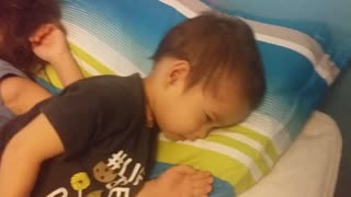 Little Brother Caught Sleeping With Older Brother (CUTE)  - Video