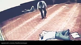 Scenes of Theft in a Mosque - Video