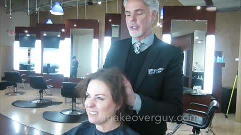 MAKEOVER: EXTREMEly Thin Hair, by Christopher Hopkins, The Makeover Guy®