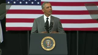 Obama lauds New Orleans' progress since Katrina - Video