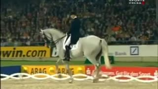 She Looked Like A Regular Horse. But Watch Her Legs When Music Starts! I'm STUNNED! - Video