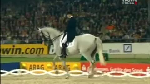 She Looked Like A Regular Horse. But Watch Her Legs When Music Starts! I'm STUNNED!