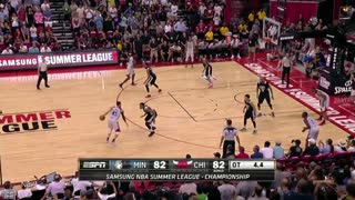 Chicago Bulls' Denzel Valentine Hits Two Buzzer-Beaters to Win Summer League Championship - Video