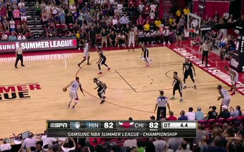 Chicago Bulls' Denzel Valentine Hits Two Buzzer-Beaters to Win Summer League Championship
